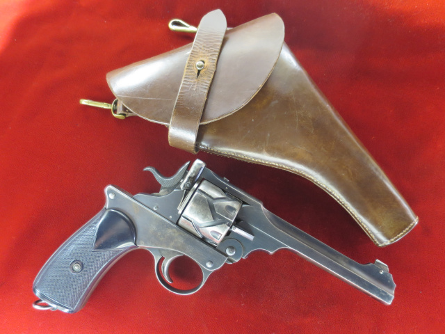 Webley 1903 Fosbery 455 caliber-ID'd to Major General Gambier-Parry---$14995.00