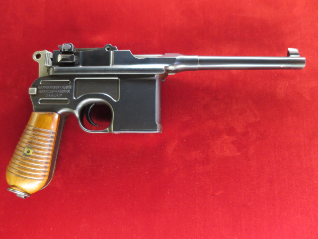 Mauser 1930 Commercial Broomhandle, 7.63mm---$3495.00
