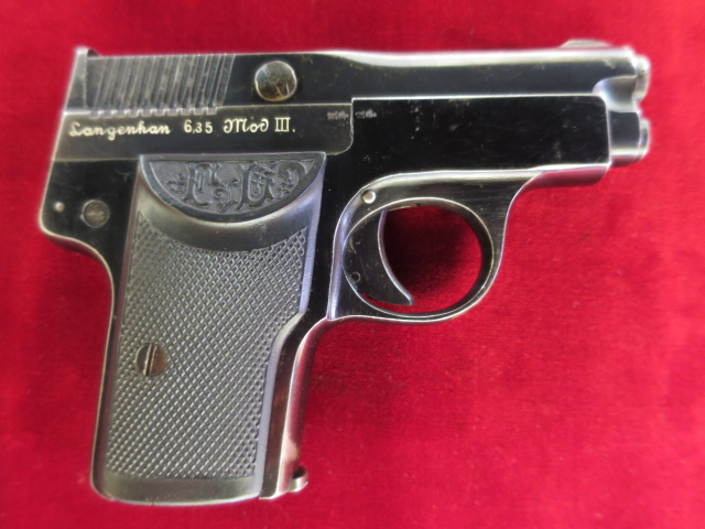 Langenhan Model III, 6.35mm---$595.00