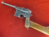 Mauser 1896 Broomhandle RED 9 with stock---$4750.00