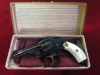 S&W New Departure, 32 caliber, Mint in box-Blue-Pearl---$1475.00