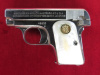 Colt 1908, 25 caliber, Factory Nickel-Pearl---$1495.00